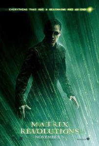 matrix revolutions affiche