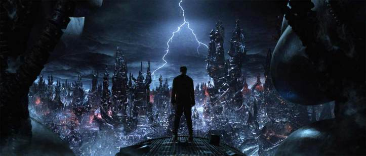 matrix revolutions neo ville des machines
