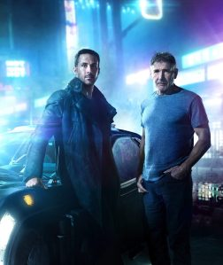 ryan gosling harrison ford cast promo blade runner 2049