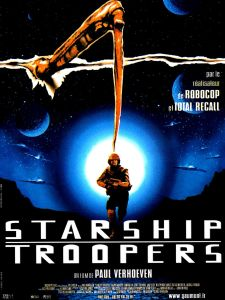 starship troopers affiche