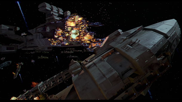 starship troopers bataille spatiale