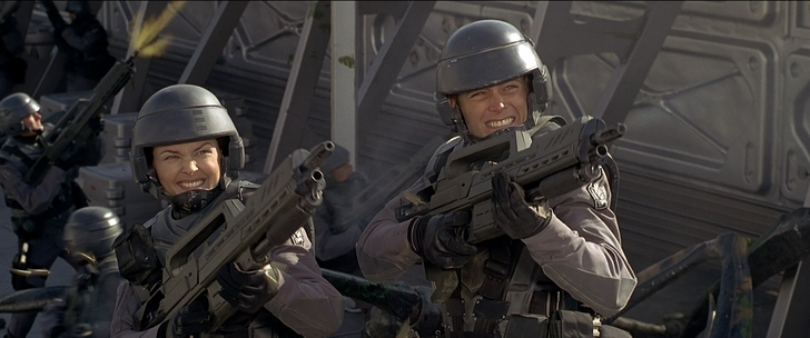 starship troopers rico dizzie