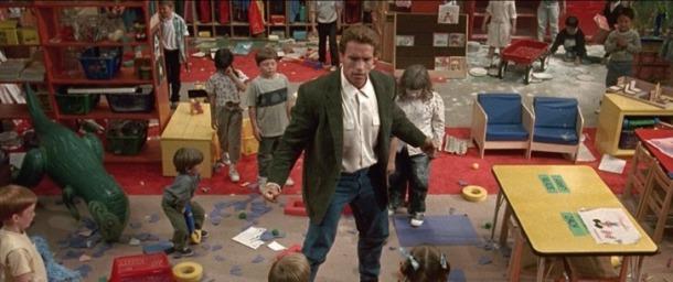 un flic à la maternelle john kimble classe enfant turbulents