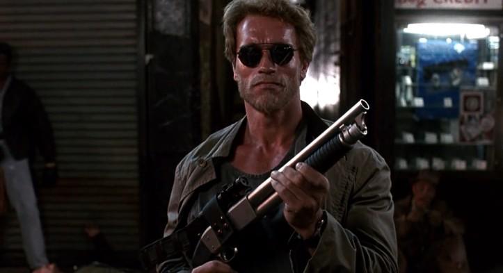 un flic à la maternelle john kimble fusil à pompe
