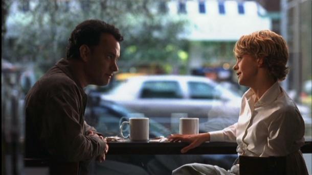 vous avez un message film tom hanks meg ryan tete à tete café