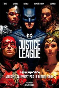 justice league affiche