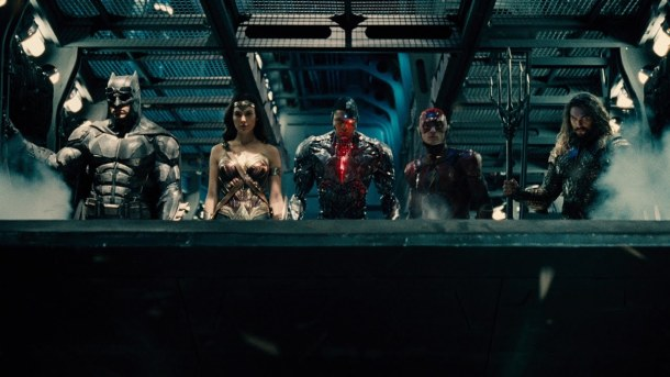 justice league batman aquaman wonder woman flash cyborg