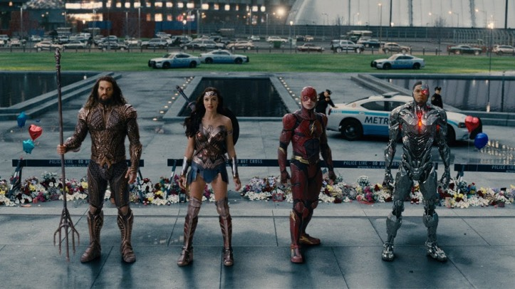 justice league cyborg aquaman flash wonder woman