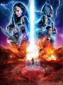 justice league steppenwolf parademon poster fan art