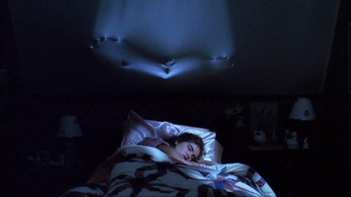 les griffes de la nuit chambre mur silhouette freddy krueger