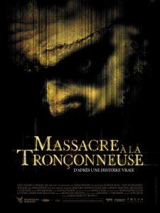 massacre à la tronconneuse 2003 affiche