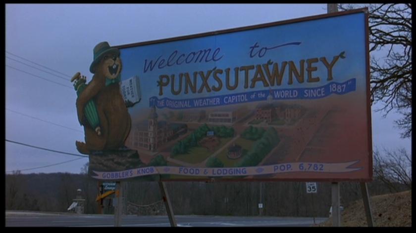 un jour sans fin Punxsutawney