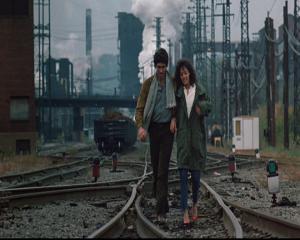 flashdance ligne de chemin de fer couple amour