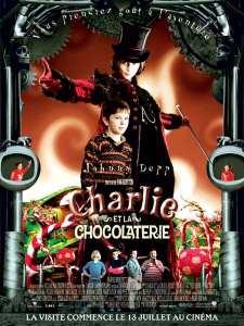 charlie et la chocolaterie affiche
