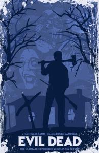evil dead 1981 affiche