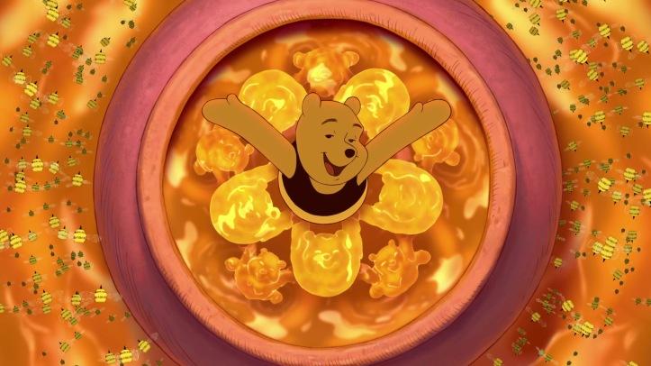 winnie l ourson 2011 nage dans le miel