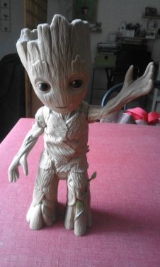 dancing groot figurine