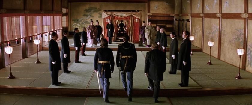 le dernier samourai nathan algren face a l empereur du japon