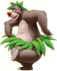 le livre de la jungle Baloo