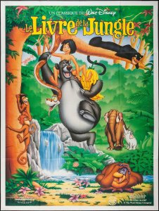 le livre de la jungle disney affiche