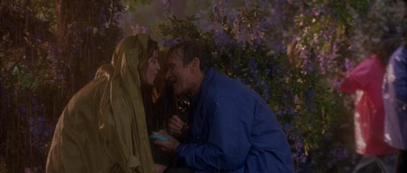 au dela de nos reves chris et sa femme sous la pluie