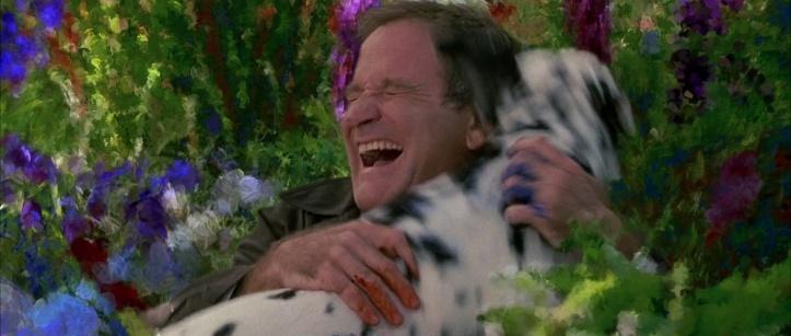 au dela de nos reves chris retrouve au paradis sa chienne katie