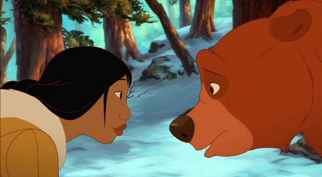 frere des ours 2 nita retrouve kinai en ours