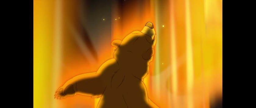 frere des ours disney kinai change en ours