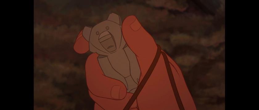 frere des ours disney totem de l ours symbole de l amour