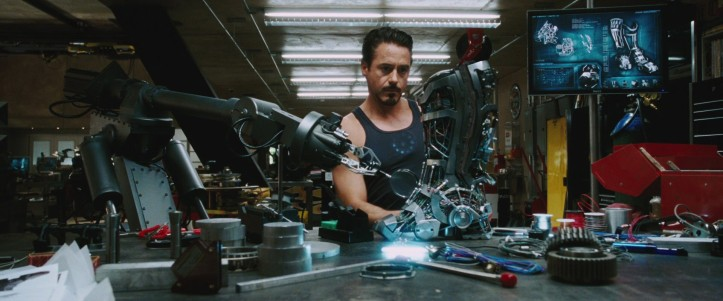 iron-man1 creation armure iron man