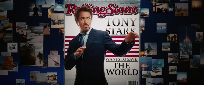 iron-man1 tony stark en couverture de rolling stone magazine