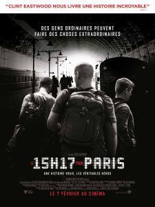 le 15h17 pour paris affiche