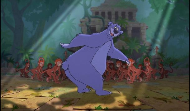 le livre de la jungle 2 baloo danse avec les singes