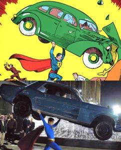 superman returns similaire comics