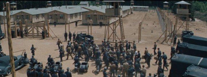 la grande evasion arrivee au camp