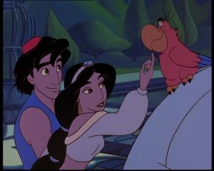 le retour de jafar jasmine caresse iago