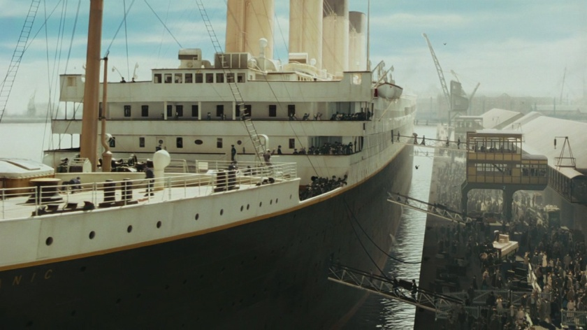 Titanic embarcation
