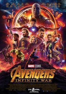 Avenger infinity war affiche