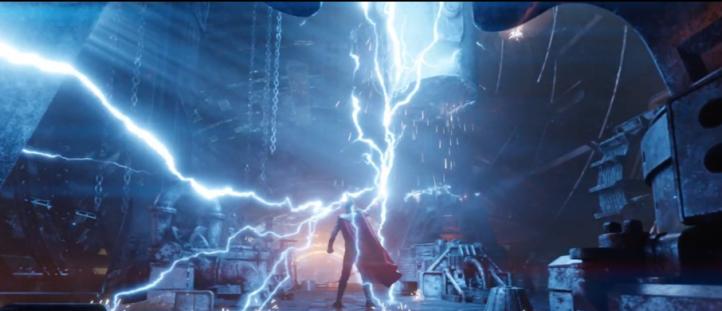 avenger infinity war thor et sa nouvelle arme