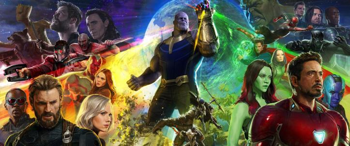 AVENGERS infinity war personnages