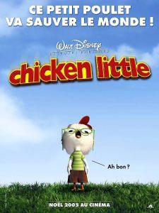 chicken little affiche