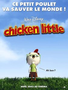 chicken little affiche