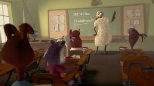 chicken-little-cours de mouton