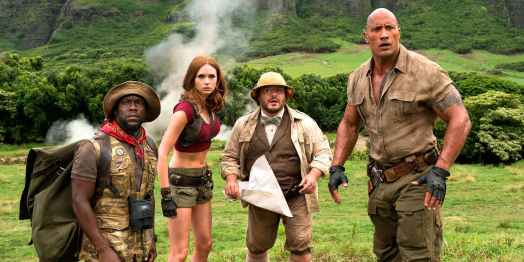 jumanji bienvenue dans la jungle casting fridge martha bethany et spencer
