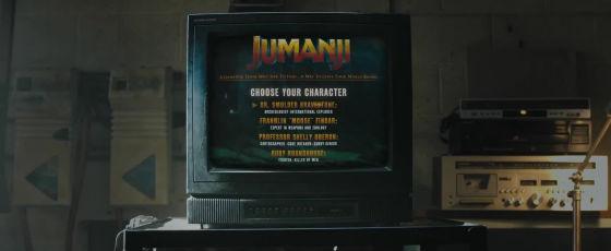 jumanji bienvenue dans la jungle menu principal du jeu vidéo