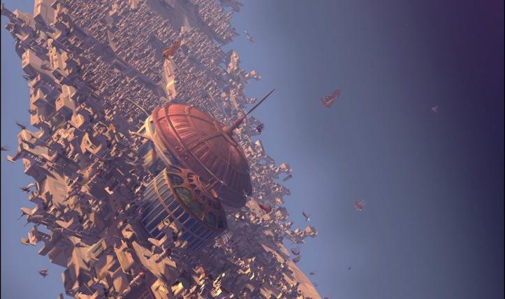 la planete au tresor spatio port
