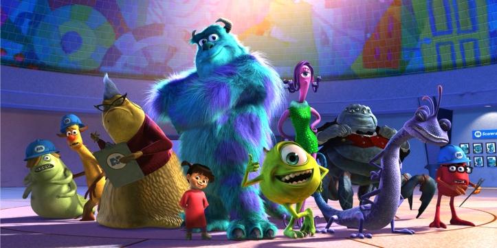 monstres et compagnie personnages