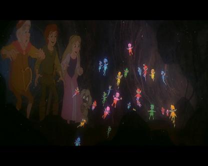 taram et le chaudron magique elfes