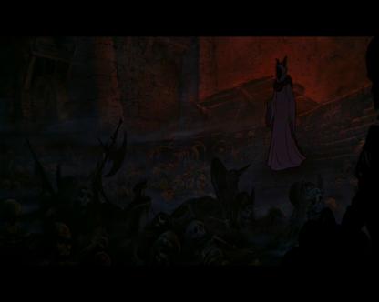 taram et le chaudron magique le seigneur des tenebres veut reveiller les morts
