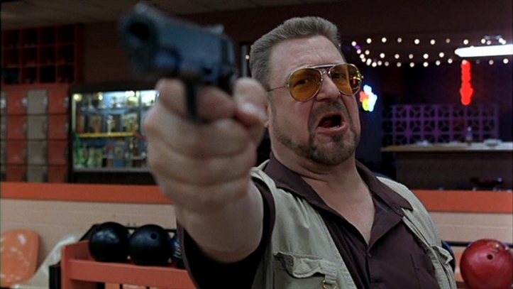 the big lebowski walter mets toi un zero